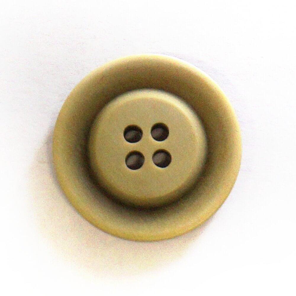 Green Ombre Matt Button Fastening 23mm Wide