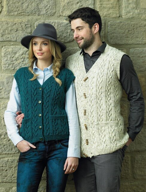 James C Brett Double Knitting Pattern JB431 Cardigan