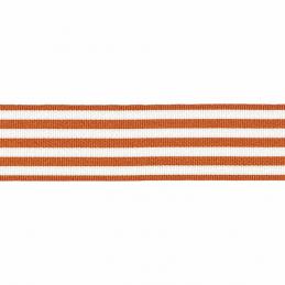 9mm Berisfords Pencil Stripes Ribbon Woven Narrow Stripe