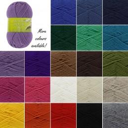 King Cole Merino Blend DK Double Knitting Yarn Knit Craft Wool Crochet 50g Ball