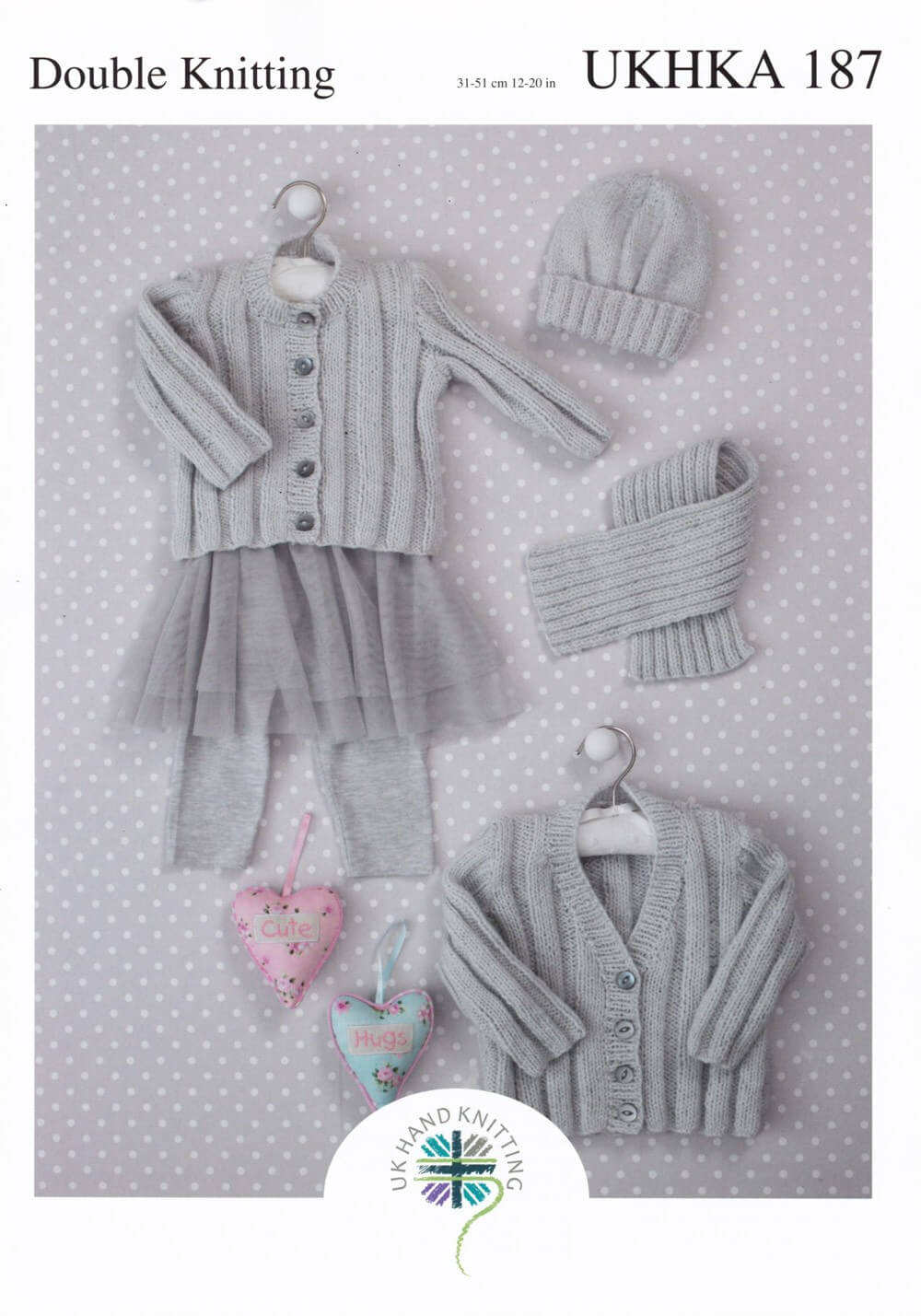 Knitting Pattern James C Brett UKHKA187 DK Baby Outfits