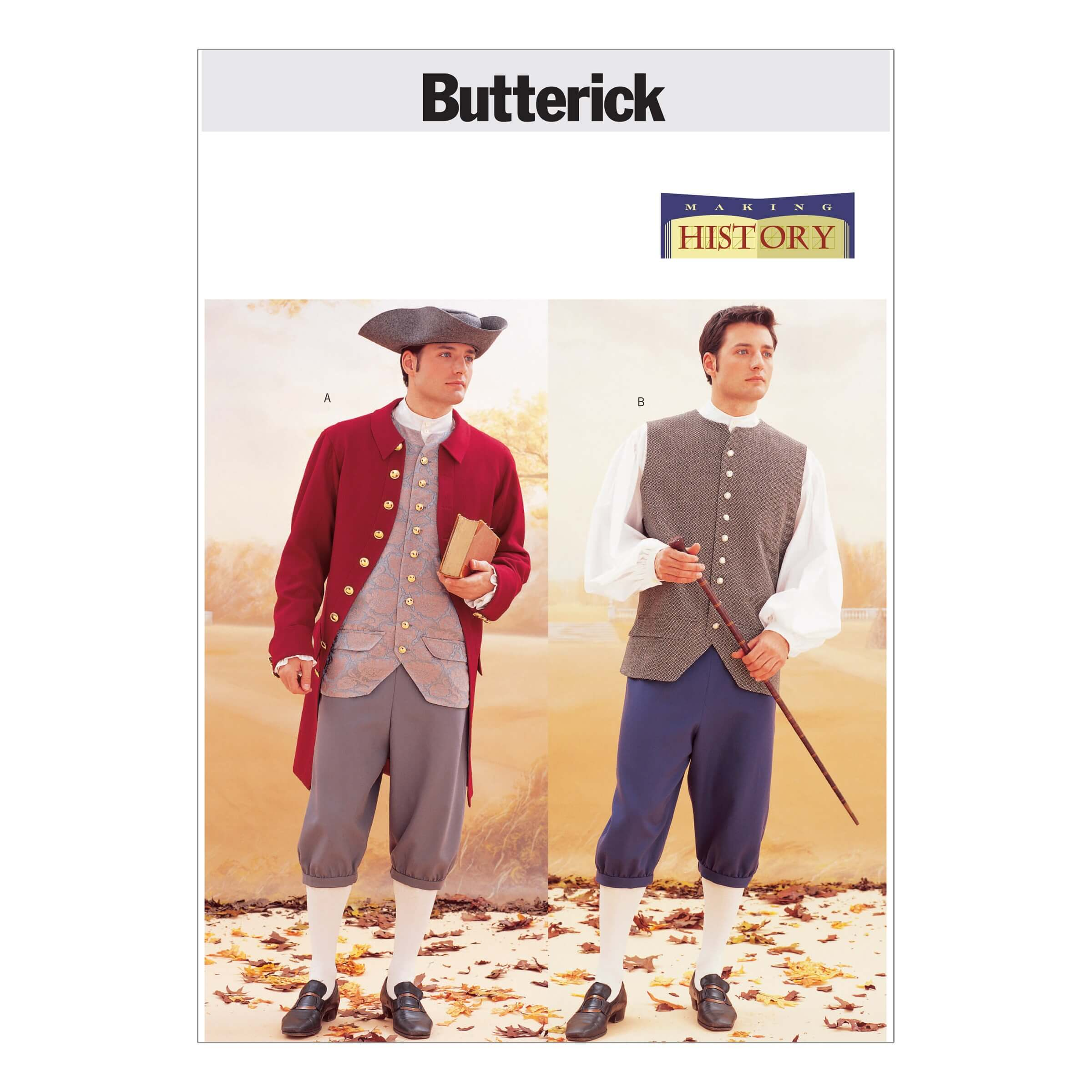 Butterick Sewing Pattern 3072 Historical Costume Nautical Sailor