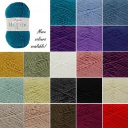 King Cole Majestic DK Double Knitting Yarn Knit Craft Wool Crochet 50g Ball