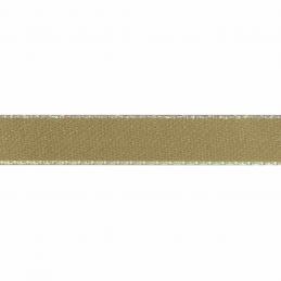 Honey 15mm Berisfords Iridescent Edge Satin Polyester Craft Ribbon