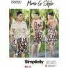 Simplicity Sewing Pattern 8890 Misses Trench Coat and Slip Dress