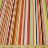 100% Cotton Poplin Fabric Rose & Hubble Rainbow Stripes