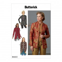 Butterick Sewing Pattern 6602 Women's Petite Jacket