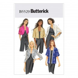 Butterick Sewing Pattern 5529 Women's Loose Jacket