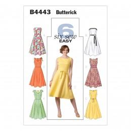 Butterick Sewing Pattern 4443 Misses' Petite Dress