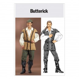 Butterick Sewing Pattern 4574 Men's Historical Costume Robin Hood