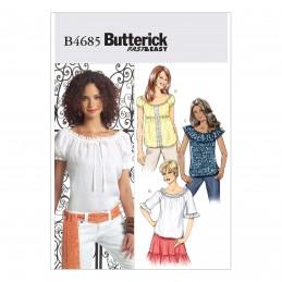 Butterick Sewing Pattern 4685 Women's Summer Tops