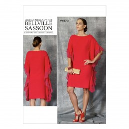 Vogue Sewing Pattern V1473 Women's Caftan Style Pullover Dress