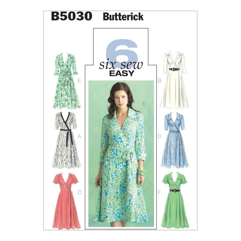 Butterick Sewing Pattern 5030 Misses' Dress Belt & Sash
