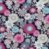 100% Cotton Poplin Fabric Rose & Hubble Bobby's Sunflowers Floral Flower