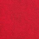 Scarlet 100% Cotton Patchwork Fabric Nutex Ponga Koru Abstract Pattern