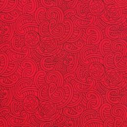 100% Cotton Patchwork Fabric Nutex Ponga Koru Abstract Pattern