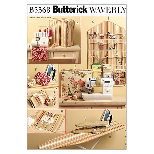 Butterick Sewing Pattern 5368 Decorative Sewing Items Accessories