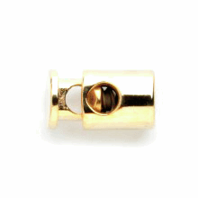 18mm Pair of Gold Mini Sprung Toggle Ends Vogue Star