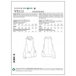 Vogue Sewing Pattern V9112 Women's High Neck Sleeveless Dress