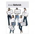 Butterick Sewing Pattern 5682 Misses' Jeans & Trousers Assorted Styles