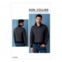 Vogue Sewing Pattern V9290 Men's Bomber Style Jacket