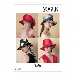 Vogue Sewing Pattern V9308 Women's And Children's Hat