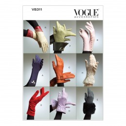 Vogue Sewing Pattern V8311 Women's Fashion Gloves