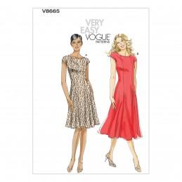 Vogue Sewing Pattern V8665 Women's Misses' Petite Dress