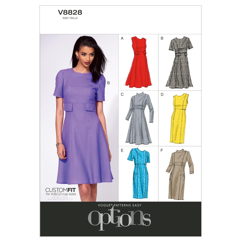 Vogue Sewing Pattern V8828 Women's Dress