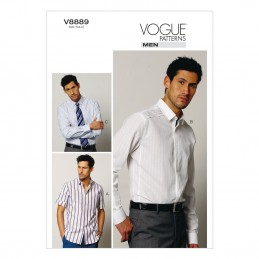 Vogue Sewing Pattern V8889 Men's Shirt