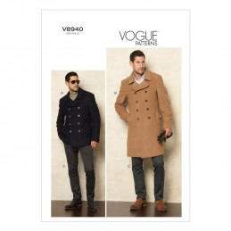 Vogue Sewing Pattern V8940 Men's Jacket And Trousers