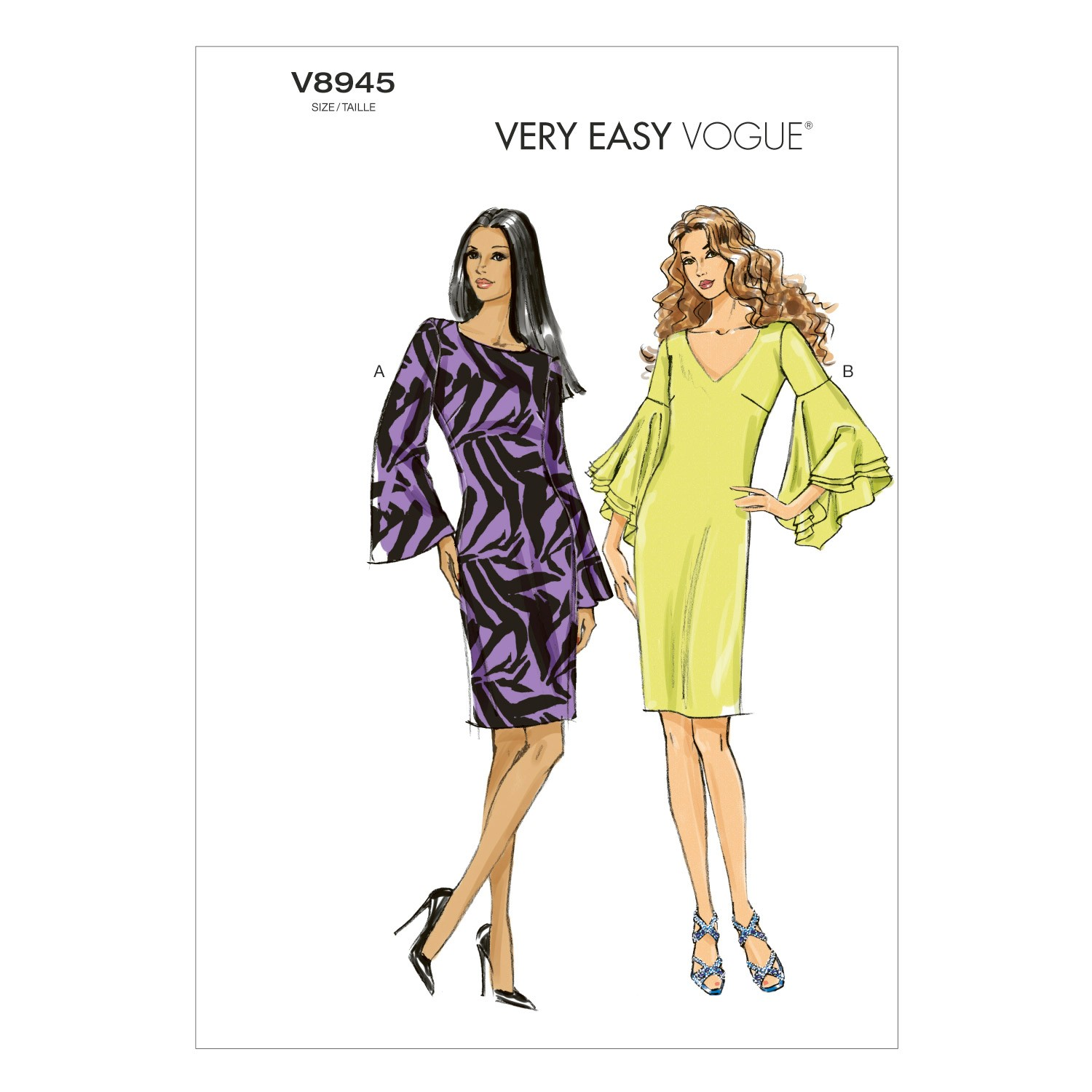 Vogue Sewing Pattern V8945 Women's Dress