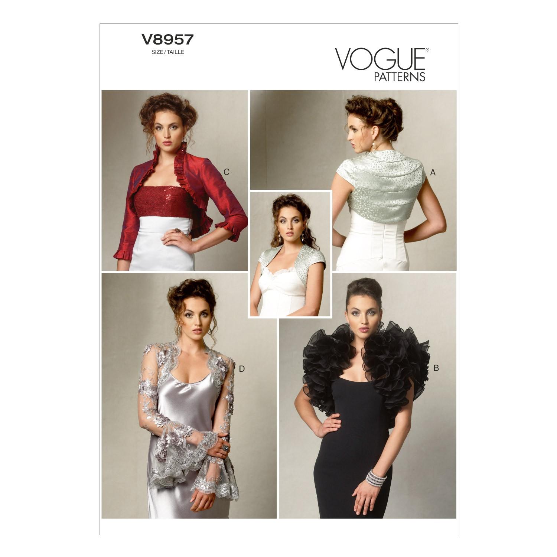 Vogue Sewing Pattern V8957 Women's Jacket