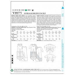 Vogue Sewing Pattern V8975 Women's Dress And Jacket