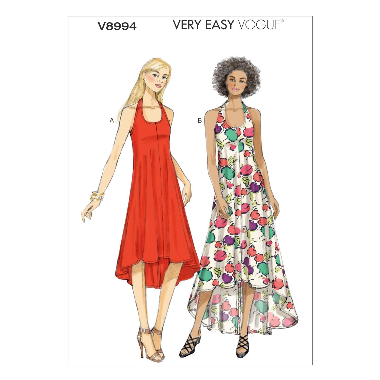 Vogue Sewing Pattern V8994 Women's Summer Dress