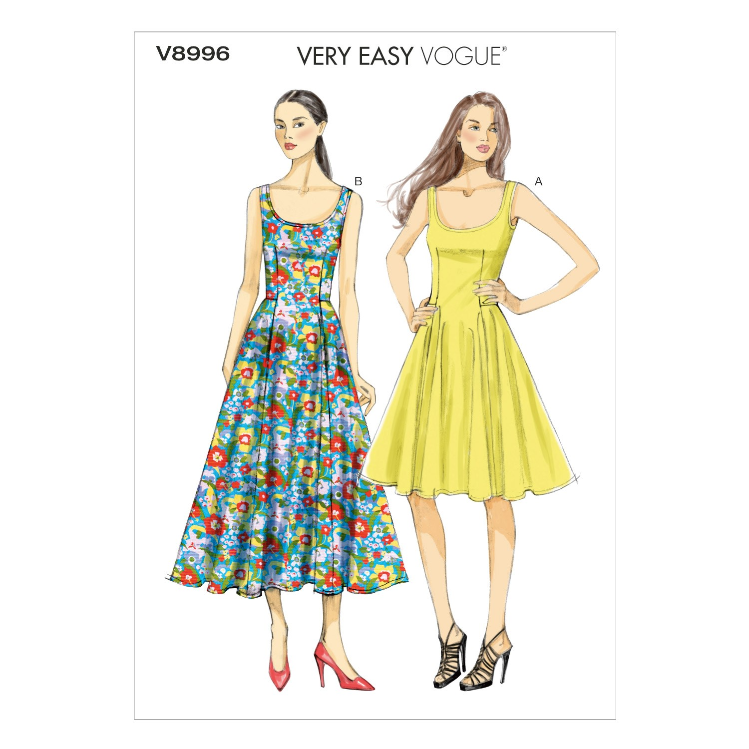 Vogue Sewing Pattern V8996 Women's Summer Dress
