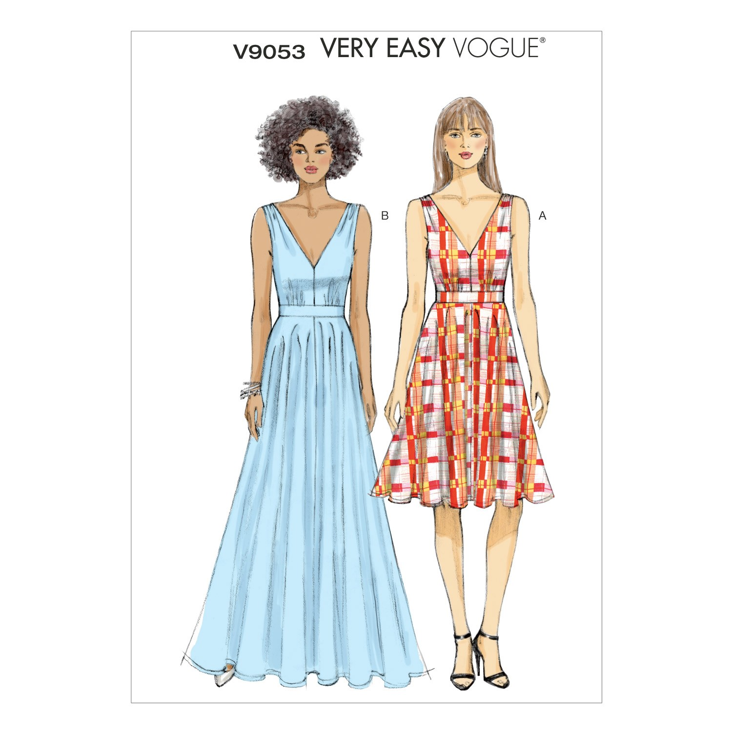Vogue Sewing Pattern V9053 Women's Special Occasion Dress