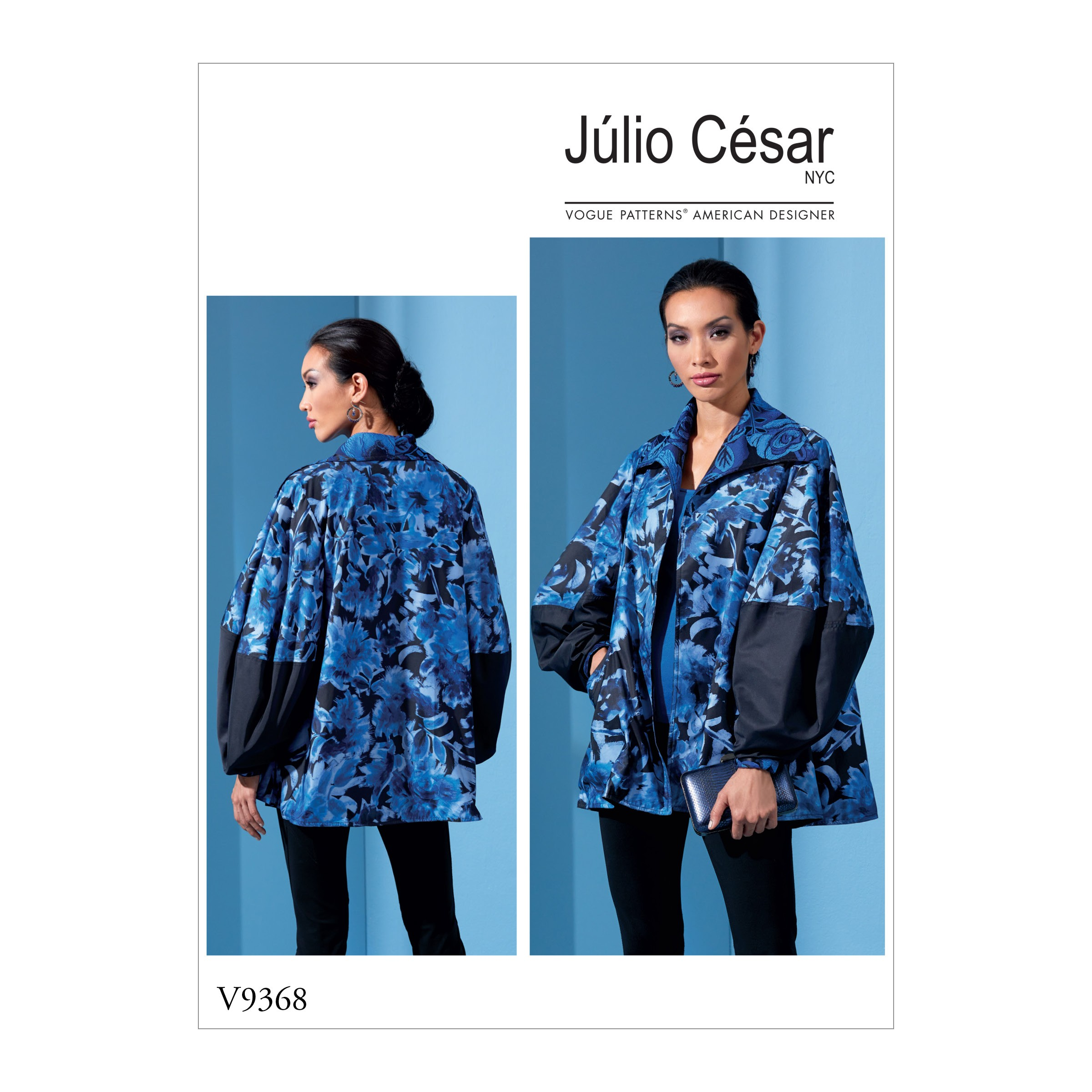 Vogue Sewing Pattern V9368 Women's Over Sized Jacket