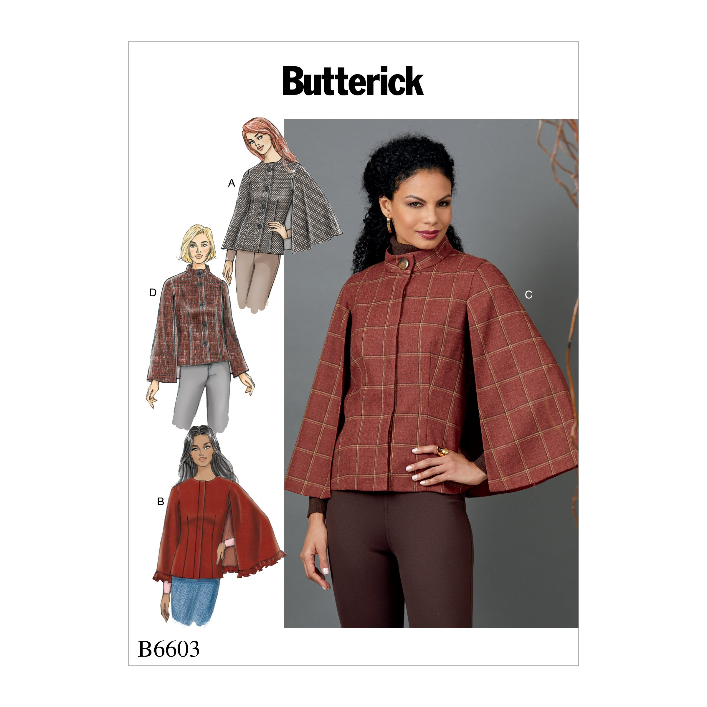 Butterick Sewing Pattern 6603 Misses' Casual Loungewear Separates Mix and Match