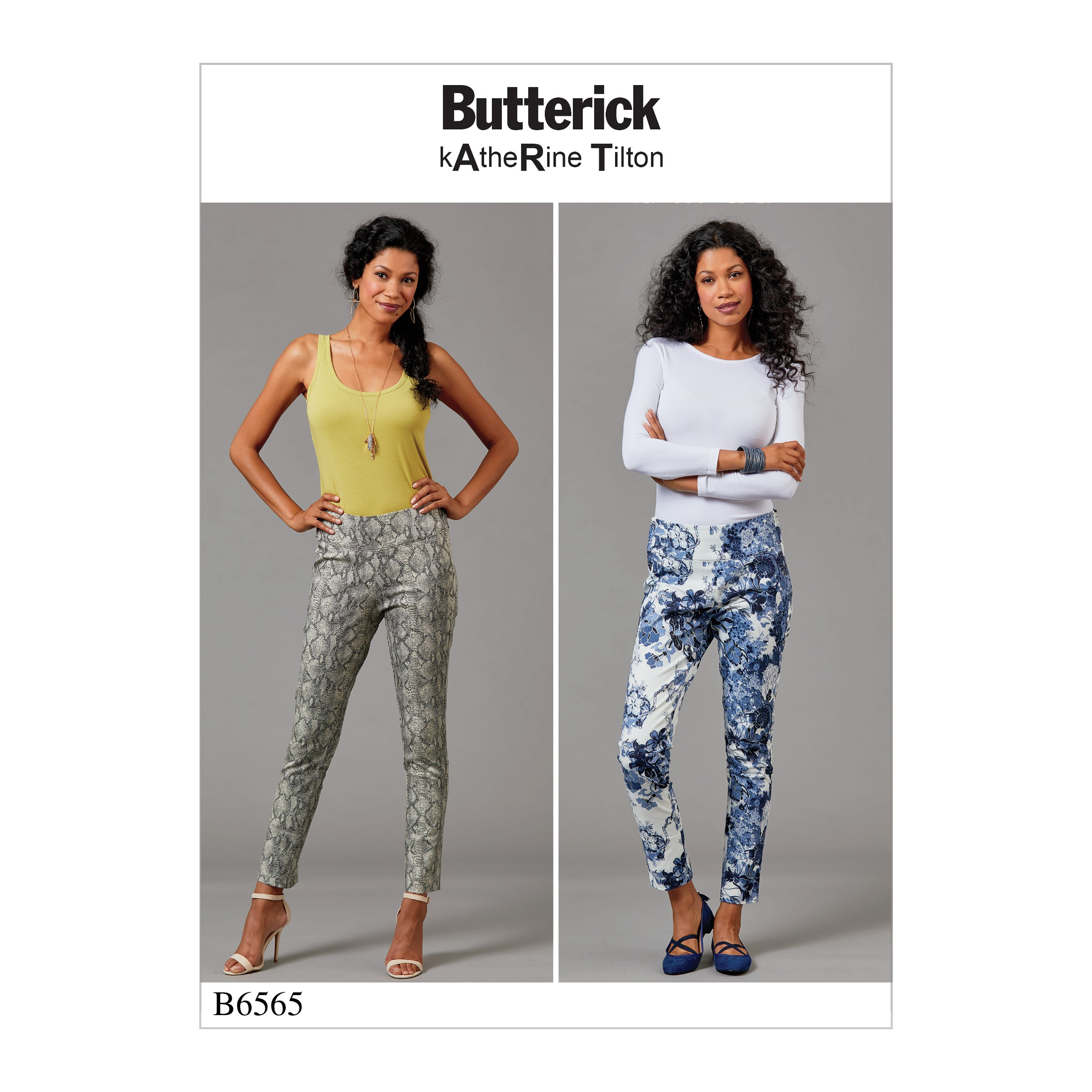 Butterick Sewing Pattern 6565 Misses' Close Fitting Pull-On Pants