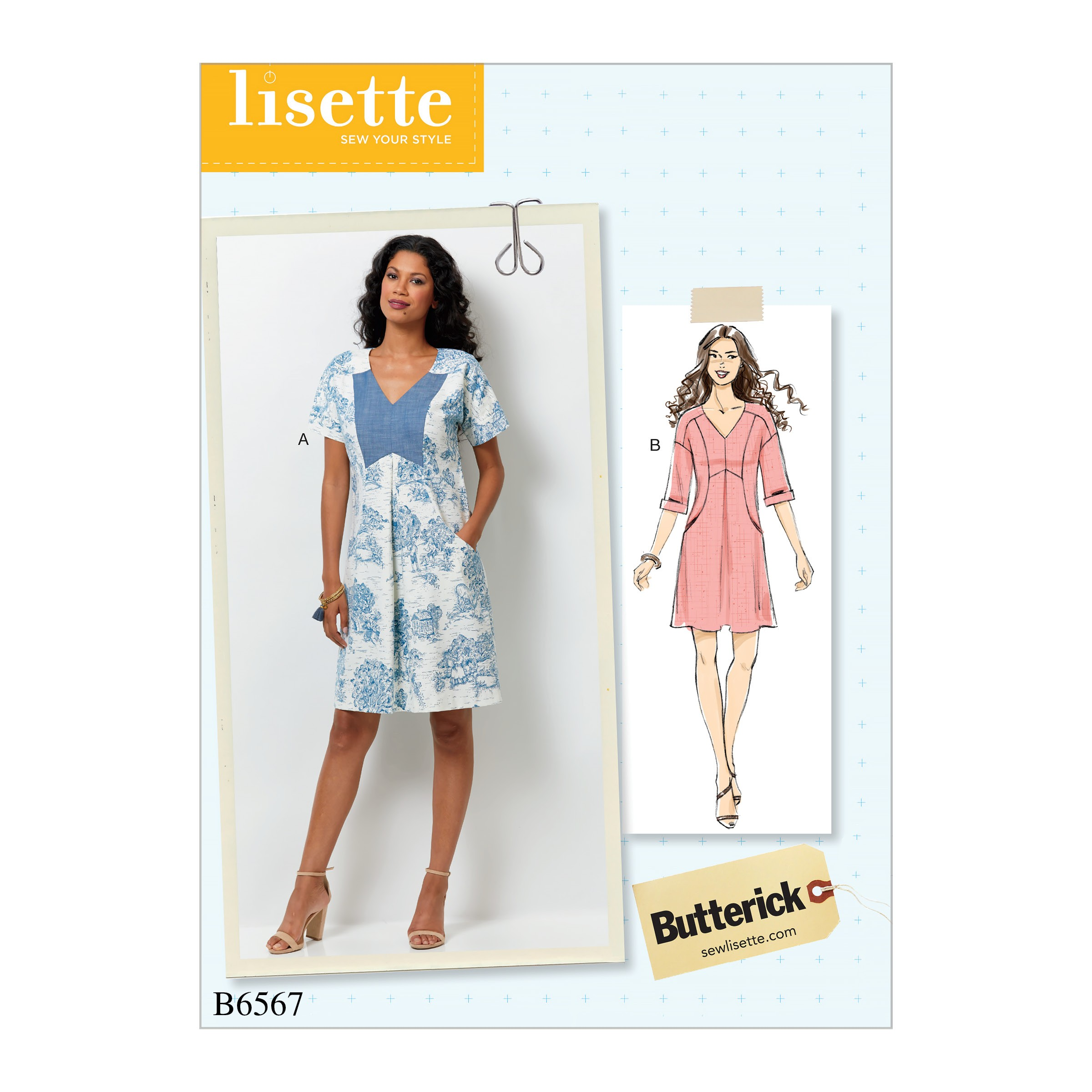 Butterick Sewing Pattern 6566 Misses' / Misses Petite Dress, Rhomper or Playsuit