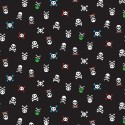 Skull & Crossbones 100% Cotton Patchwork Fabric Walk The Plank Pirates Boats Treasure