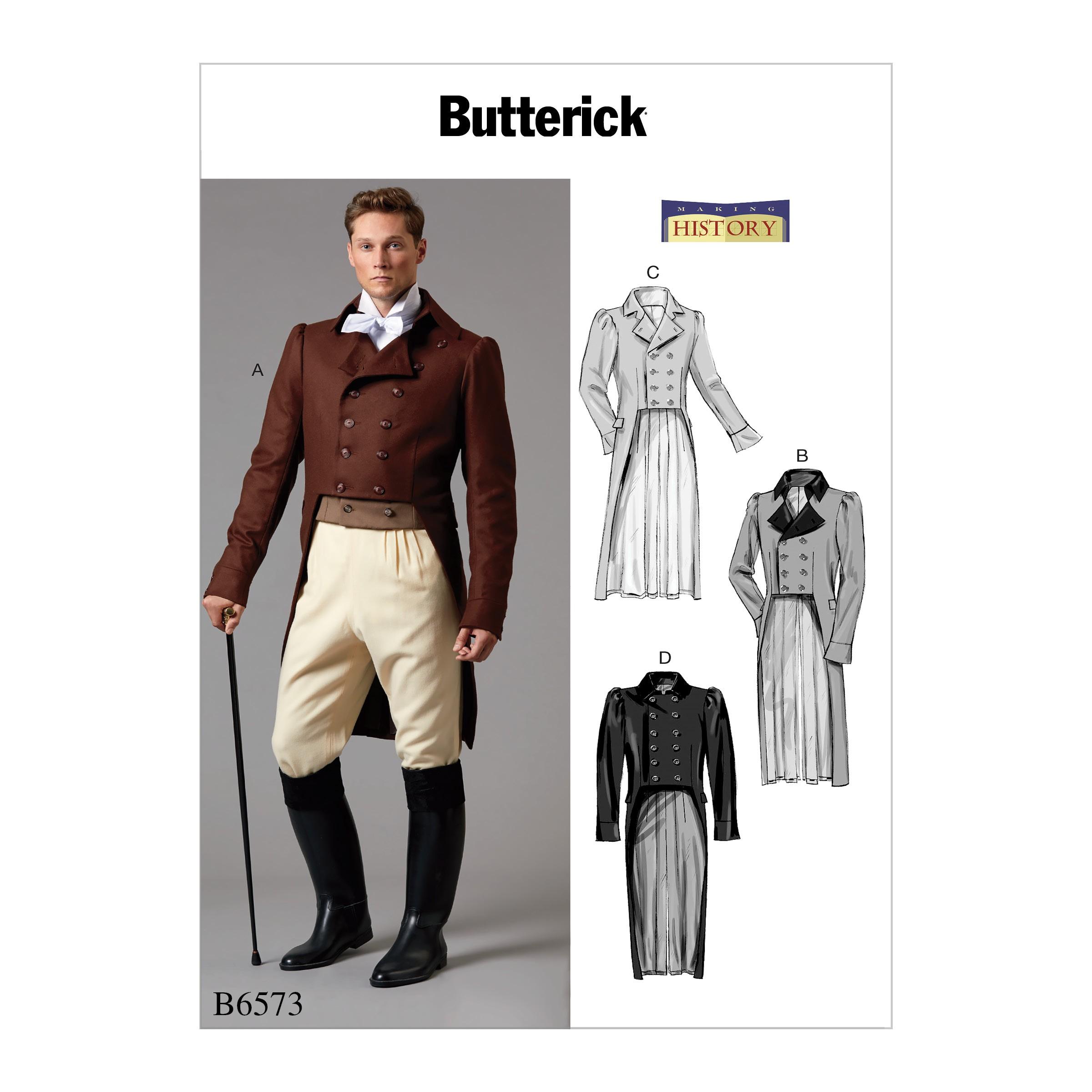Butterick Sewing Pattern 6573 Mens'