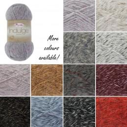 King Cole Indulge Chunky Knitting Yarn Knit Craft Wool Crochet 100g Ball