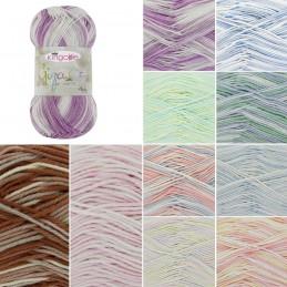 King Cole Giza Sorbet 4 Ply Knitting Yarn Knit Craft Wool Crochet 50g Ball