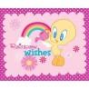Rainbow Wishes Looney Tunes 100% Cotton Fabric