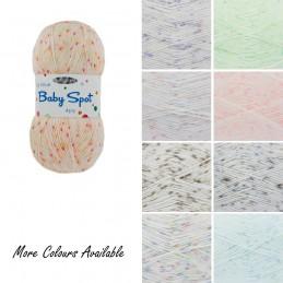 King Cole Big Value 4 Ply Spot Wool Yarn Knitting 100% Premium Acrylic 100g
