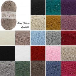 King Cole Big Value Aran Wool Yarn Knitting 100% Premium Acrylic 100g