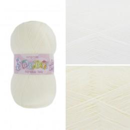 King Cole Big Value Baby 3Ply Wool Yarn Knitting 100% Premium Acrylic 100g