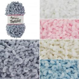 King Cole Funny Yummy Novelty Knitting Yarn Knit Wool Crochet 100g Ball